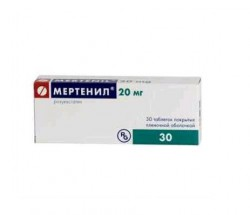 Мертенил, табл. п/о 20 мг №30